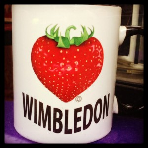 strawberries and wimbledon