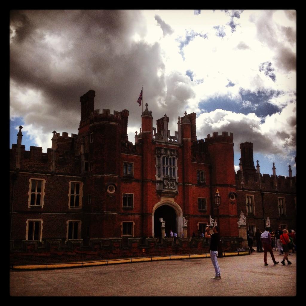 Tudor entrance