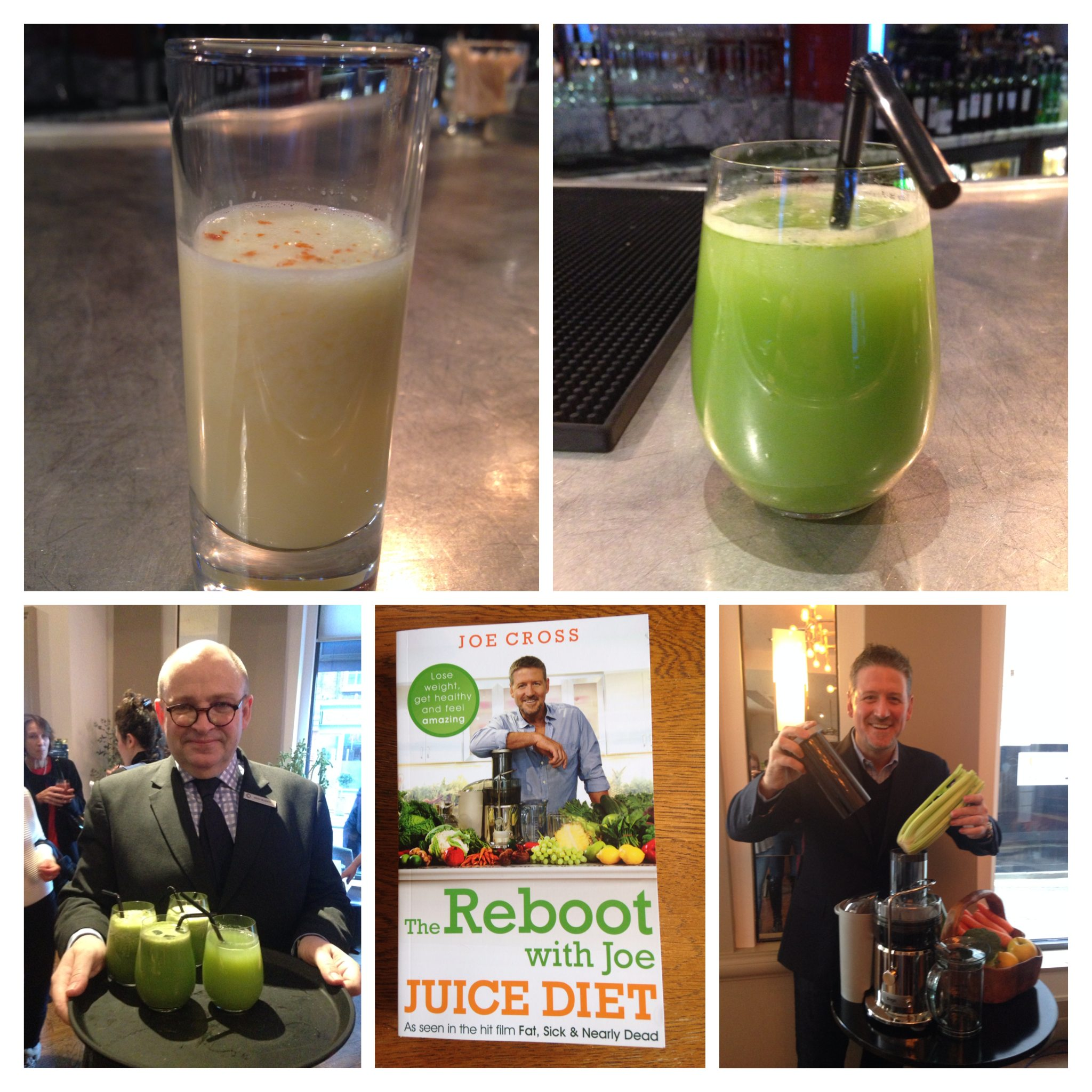 Liquid Breakfast with Joe the Juicer!