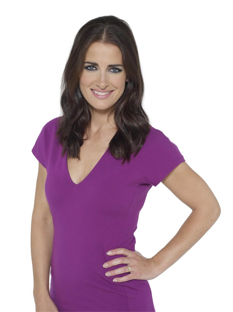 SKY Sports Presenter, Kirsty Gallacher