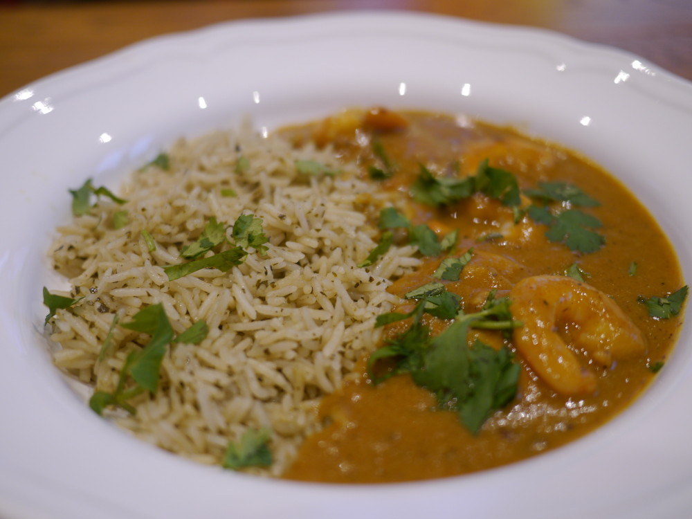 Maille Colombo Prawn Curry
