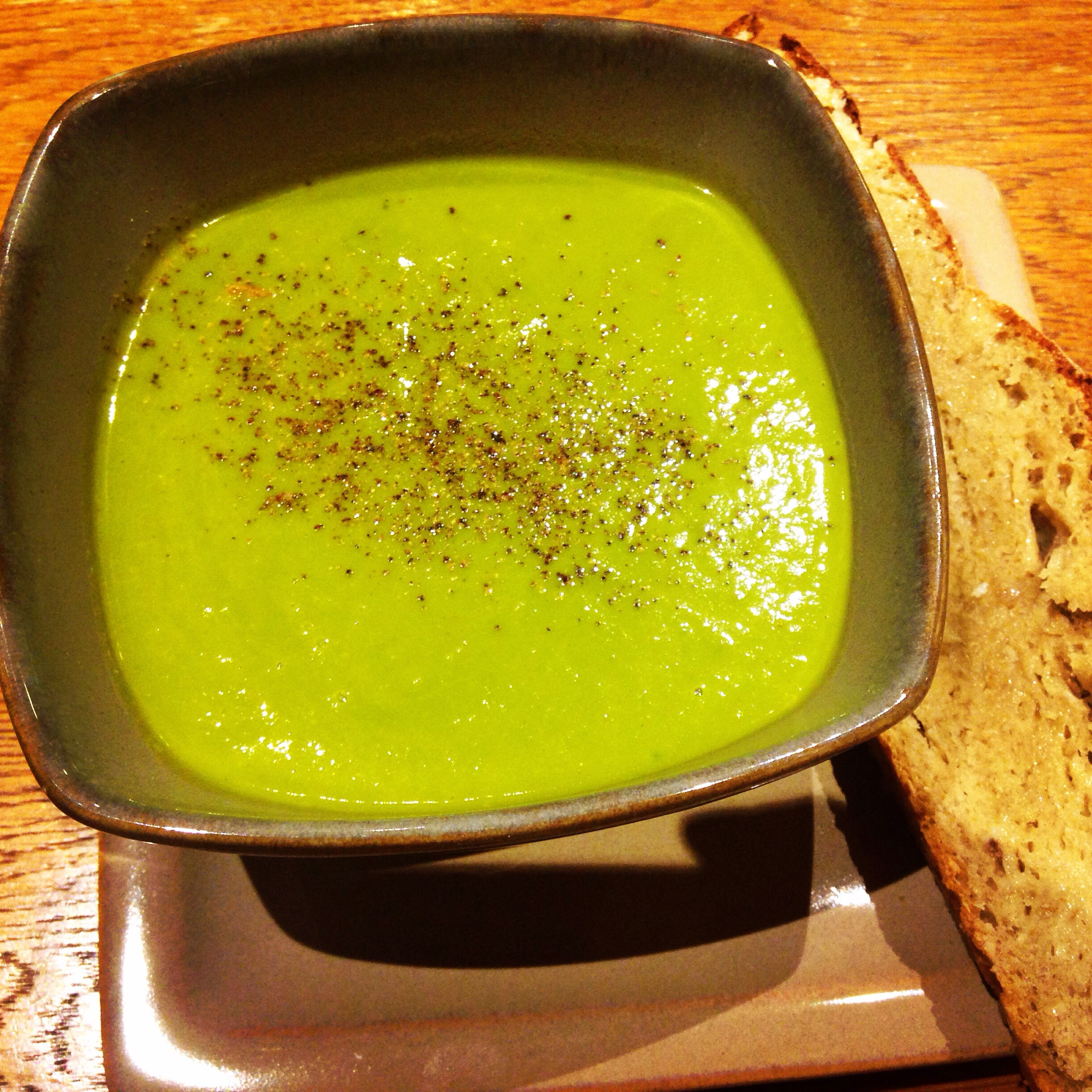 Hungry's Gorgeous Green Soup