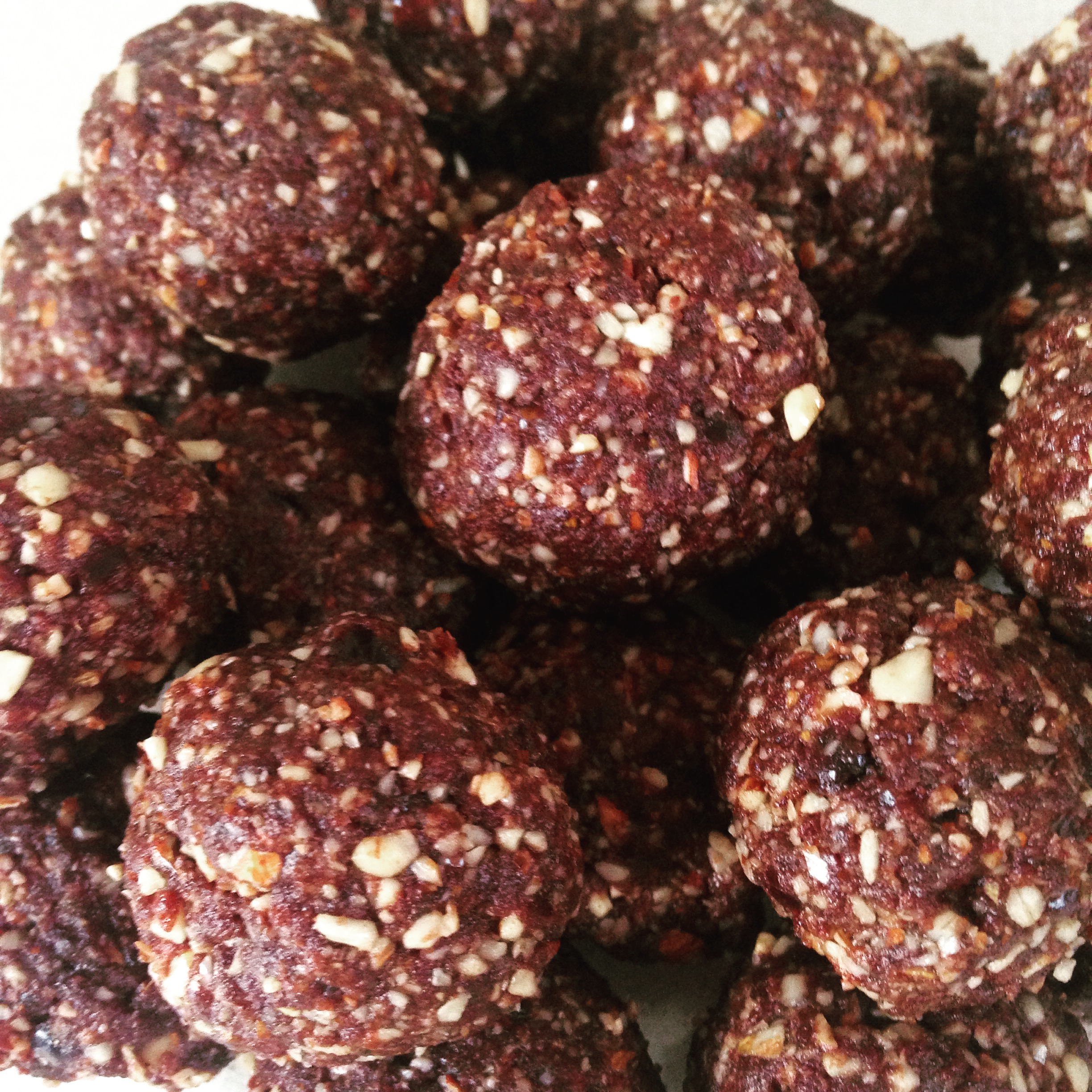 Date, Almond and Cacao Power Balls